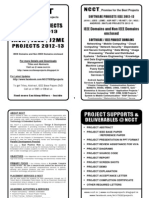 Software Project Titles Book 2012-13 - Java IEEE Projects
