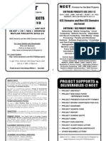 Software Project Titles Book 2012-13 - IEEE & Non IEEE Projects - Complete