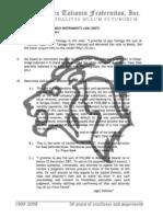Negotiable Instruments Law midterm exams 2007 - Atty. Zarah Villanueva-Castro