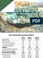 Perspectivas Economicas Del Peru Para El 2012