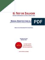 El Test de Zulliger. Manualpara el alumno