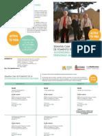 Cartagena. Semana CAM de Fomento de la Autonomía en las Personas Mayores. Octubre 2012. Obra Social. Caja Mediterráneo