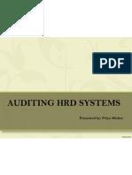 HRD Audit