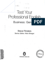 Test Your Professional Business English