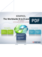 Kompass Presentation on B2B search Engine
