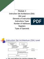 Module3 ISA