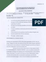 Indian Institue Of Architects Exam PART 3-2009-Dec