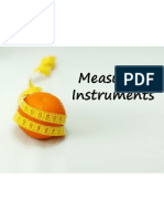 Measuring Instrument Systems