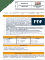Programacion  inglés 1º ESO CMP