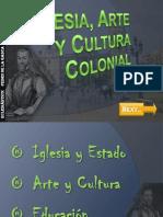 Iglesia, Arte y Cultura Colonial