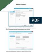 Creación de un Bosque y DNS en Windows Server 2012
