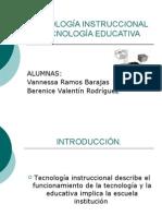 TecnologÍa Instruccional vs TecnologÍa Educativa