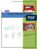 Cadcam Lab Manual