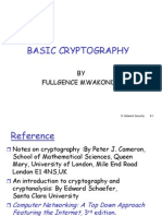 Basic Cryptography Presentation