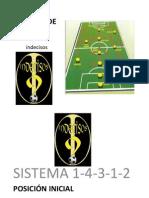 Sistema de Juego 4 3 1 2