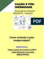 Slides Educacao e Pos Modernidade Desafios Da Educacao