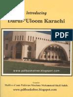 Introduction - Darul Uloom Karachi