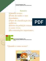 apresentação Poluição Sonora ..