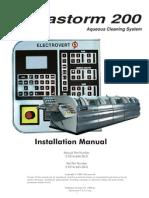 Aquastorm 200 Installation Manual