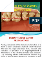 Fundamentals of Cavity Preparations