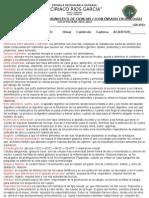 EXAMEN DE DIAGNOSTICO DE CIENCIAS I CON ÉNFASIS EN BIOLOGÍA CE 2012 - 2013