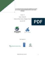 Plan de manejo para la erradicación de Leucaena Leucocephala