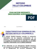 Capítulo 5-2 Método cuantitativo Batelle-Columbus
