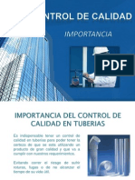 Control de Calidad Pvc