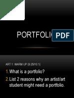 Art 1 Portfolio Unit (Web Version)