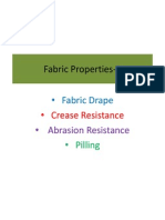 Fabric Properties 3