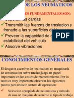 Curso Funcion Clasificacion Neumaticos Maquinaria Pesada