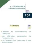 CH2-Entreprise Et Son Environnement