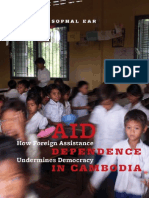 Aid Dependence in Cambodia