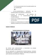 Transformador de Potencia(Informe)