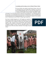 AAR Uganda Carries Out a Tree Planting and Deworming Exercise at Kitante Primary School