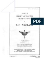 Douglas Dc-3 Pilot's Manual