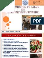Promocion de Salud en Distintos Escenarios Conferencia 2