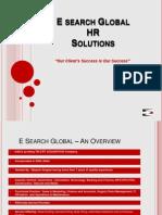 E Search Global Presentation