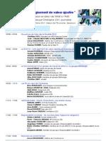 Mois de la qualité - Programme Web TV 2012