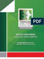 Anexo estadístico del Tercer Informe de Gobierno | Administración 2009-2015 | Gobierno del Estado de Nuevo León