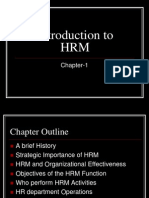 Ch 1 Introduction to HRM
