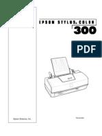 Epson SC-300 Service Manual