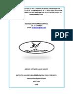 INFLUENCIA DEL MÉTODO DE FACILITACIÓN NEURONAL PROPIOCEPTIVA, CONTRAER – RELAJAR