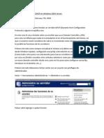 Como Crear Un Servidor DHCP en Windows 2003 Server