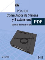 MANUAL DE CONMUTADOR STEREN PBX-100