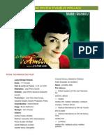Projet Amélie Poulain