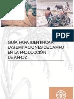 FAO-Guia Identificacion Limitaciones Arroz