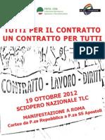 Volantino Sciopero Tlc 19 Ott 2012