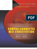 UWI WJC GUILD Constitution