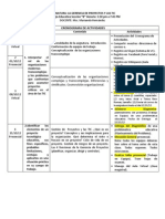 Gerencia de Proyectos y Las TIC2 (Cronograma de Actividades)